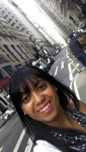 Em uma das minhas andanças por NYC!
